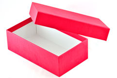 Red Box Open Royalty Free Stock Images