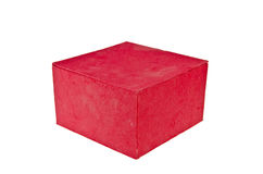 Red box two Royalty Free Stock Image