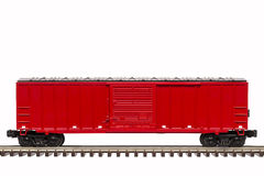 Red Boxcar Stock Photos