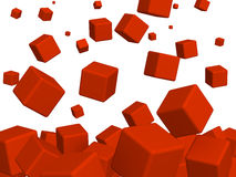 Red boxes Royalty Free Stock Image