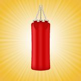 Red Boxing Bag Stock Photos