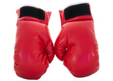 Red boxing glove Royalty Free Stock Photos