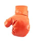 Red boxing glove isolated Stock Photo