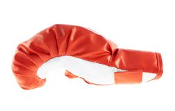 Red boxing glove isolated Royalty Free Stock Photo