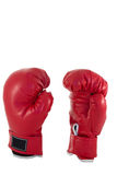 Red boxing glove Stock Images