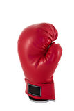 Red boxing glove Royalty Free Stock Images