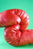 Red boxing gloves Royalty Free Stock Photos