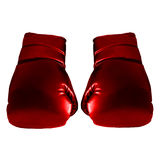 Red Boxing Gloves. For Art work Royalty Free Stock Photos