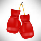 Red Boxing Gloves Stock Image