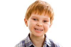 Red boy Royalty Free Stock Photography