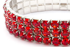 Red Bracelet Royalty Free Stock Photography