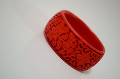 Red bracelet Royalty Free Stock Photos