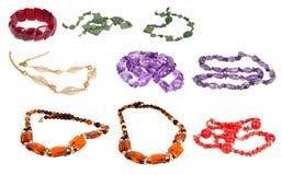 Red bracelet Royalty Free Stock Photography