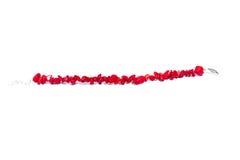 Red bracelets Stock Photo