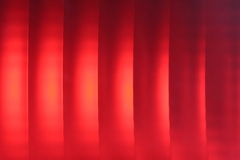 Red brake light Stock Photography