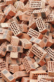 Red brick. In the sunshine stock photo