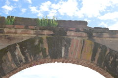 Red Brick Arch Royalty Free Stock Images