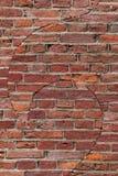Red brick art in Leiden Stock Images