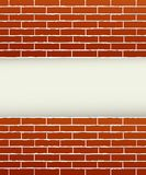 Red brick background Stock Image