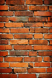 Red brick background. Old red brick wall background Stock Image