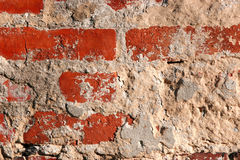 Red brick background. Old red brick wall background Royalty Free Stock Photos