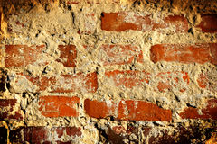 Red brick background. Old red brick wall background Royalty Free Stock Images