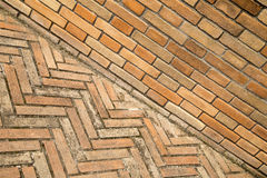 Red brick background texture royalty free stock photos