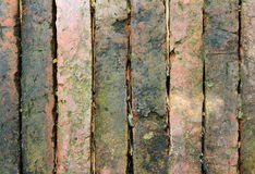 The red brick. Background of red brick wall pattern texture Stock Photography