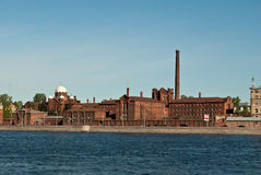 Red brick building. Stock Image