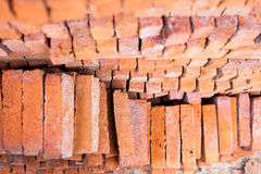 Red brick for building Royalty Free Stock Photography