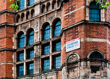 Red Brick Building, London Stock Photography