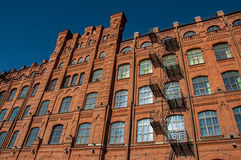 The red brick building Royalty Free Stock Photography