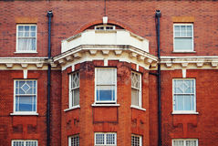 Red brick building Stock Images