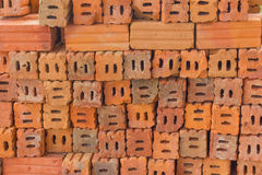 Red brick. Brick,cement,block,red,red brick Royalty Free Stock Photos