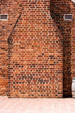 Red Brick Chimne Stock Photo