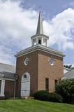 Red brick church Stock Photos