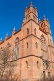 Red brick church in Berlin Royalty Free Stock Photo