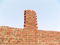 Red Brick construction Stock Photo