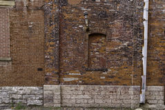 Red Brick Decay Stock Images