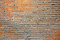 Red brick dirty background. Royalty Free Stock Photography