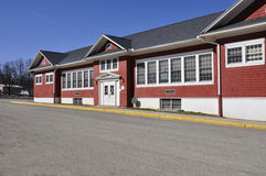 Red brick elementary school Stock Images