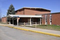Red brick elementary school. In Harmony, New Jersey Royalty Free Stock Photos