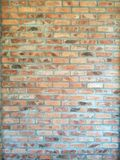 Red brick flat wall texture. Abstract background from grunge horizontal red brick flat wall texture.Modern architecture wall.Abstract royalty free stock images