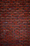 Red brick for a good commercial background. Red bricks used for brick wall good for background and grunge look Stock Images
