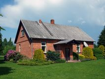 Red brick house 2 Stock Photography