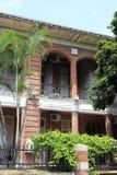 Red brick house in gulangyu island Royalty Free Stock Photos