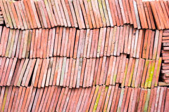 Red brick-lined sheet. Royalty Free Stock Images