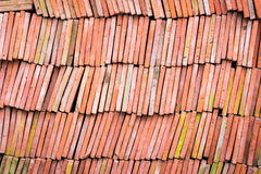 Red brick-lined sheet. Stock Image