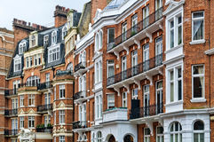 Red Brick Mansion, London Royalty Free Stock Image