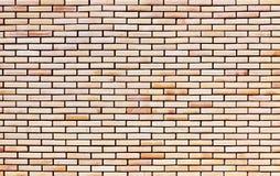 Red brick masonry. Masonry made of red bricks Stock Photos